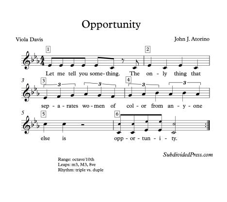 Viola Davis Singing Choral Round