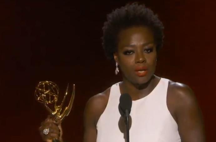 Emmy Speech Viola Davis