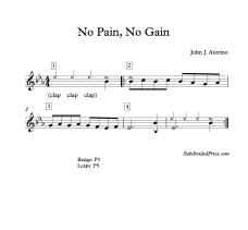 No Pain No Gain Blank