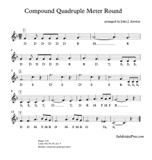 Choral Singing Round