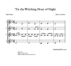 Witching Hour Blank