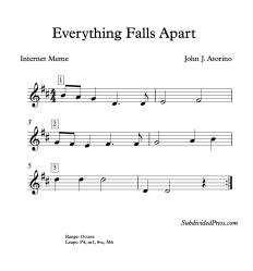 Everything Falls Apart blank