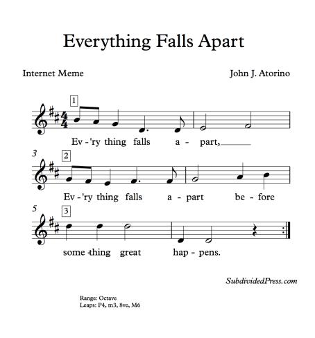 choral singing music round