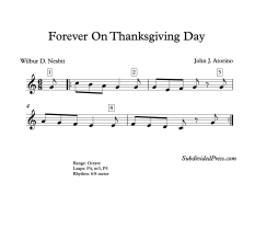 Forever On Thanksgiving Day Blank