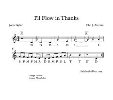 I'll Flow Solfege