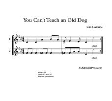 Old Dog blank