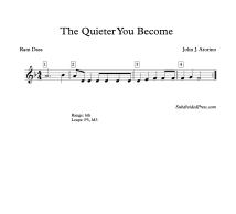 Quieter Blank