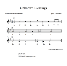 Unknown Blessings Solfege