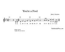solfege round music singing
