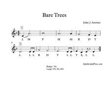 Bare Trees Solfa