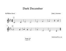 Dark December Blank