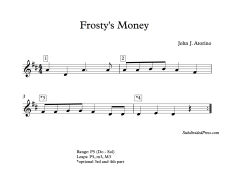 Frosty's Money Blank