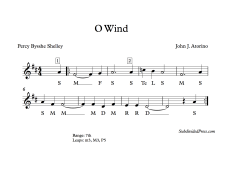 O Wind solfege