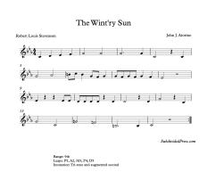 The Wintry Sun Blank