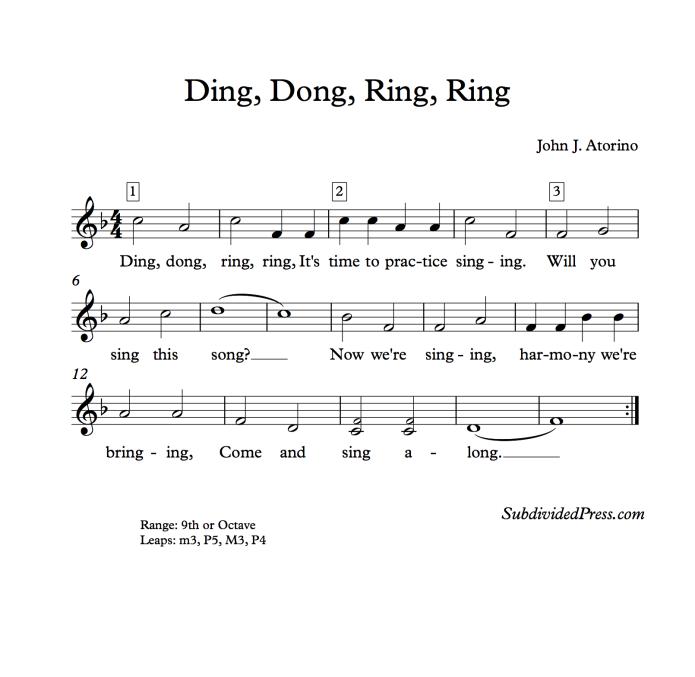 Ding Dong Ring Ring