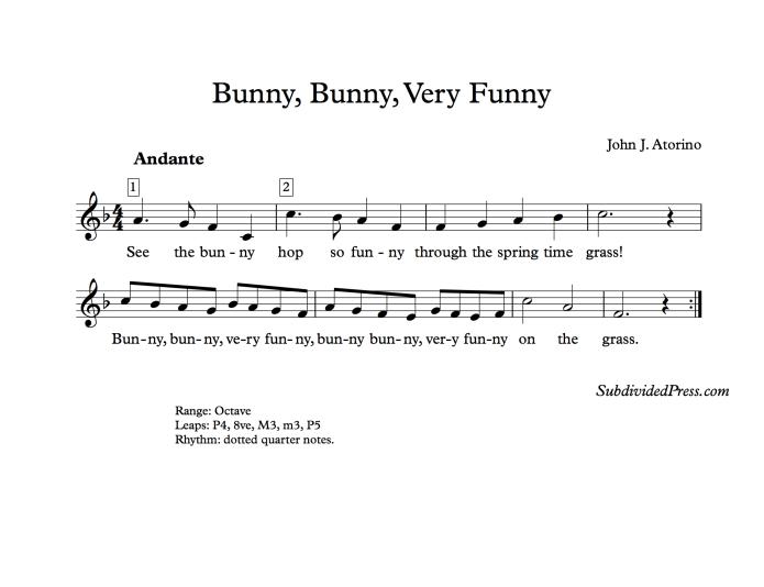 choral music singing round animals song children