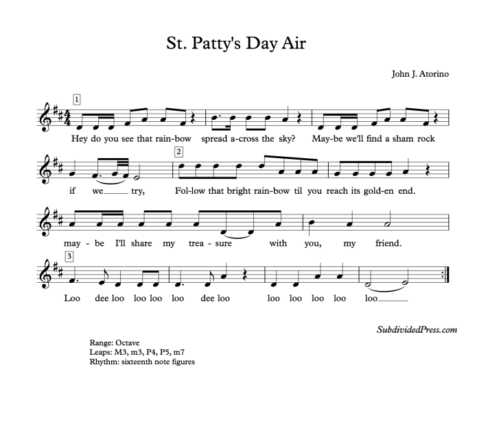 St Patty's Day Air